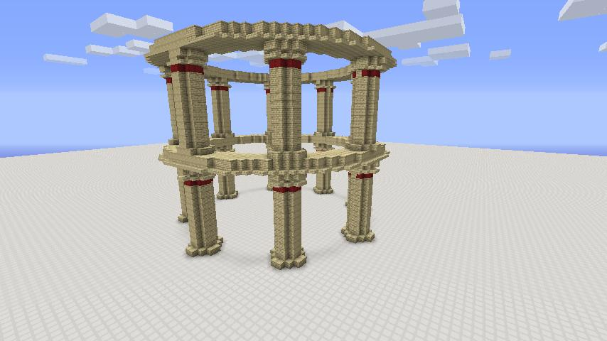 Greek Architecture Minecraft roman building bundle minecraft project