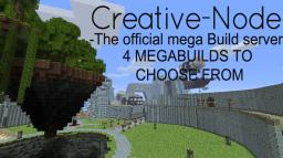 Creative-Node The official MEGABUILD server!!!!!! Minecraft Server