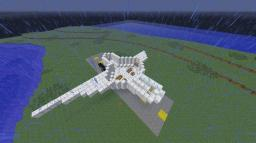 half way through a jet Minecraft Map & Project