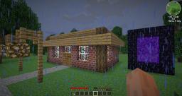 Minecraft Hut. Minecraft Map & Project