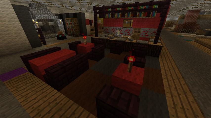 Minea Furniture Design Lifestyle Minecraft Project
