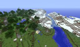Snow And Cliff Random Seed Minecraft Map & Project