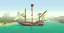 Xaiwaker Pirate Ship Minecraft Map & Project