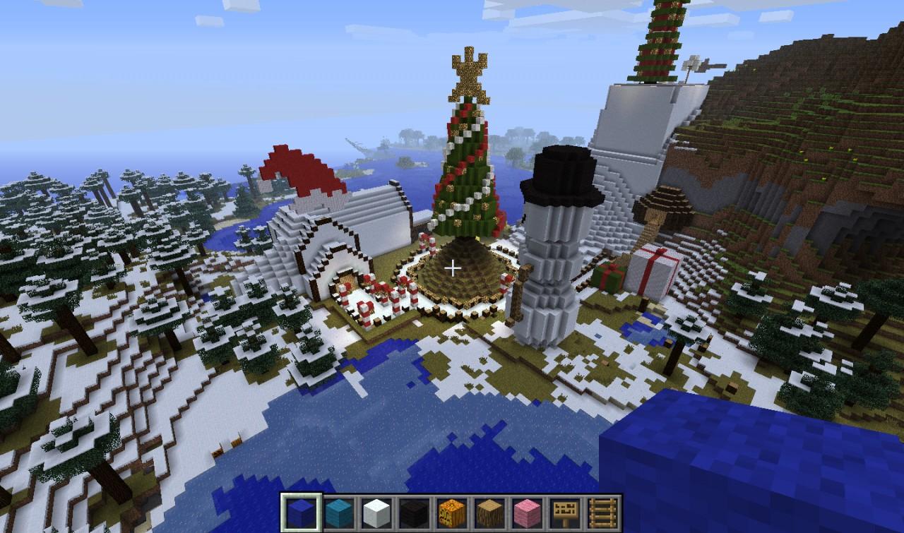 Christmas Minecraft Santa.Christmas Village Of Santa Claus V 0 5 Minecraft Project