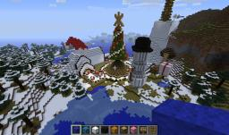 Christmas Village of Santa Claus v 0.5 Minecraft Map & Project