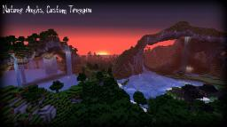 Nature Archs, A cutom Terrain Minecraft Map & Project