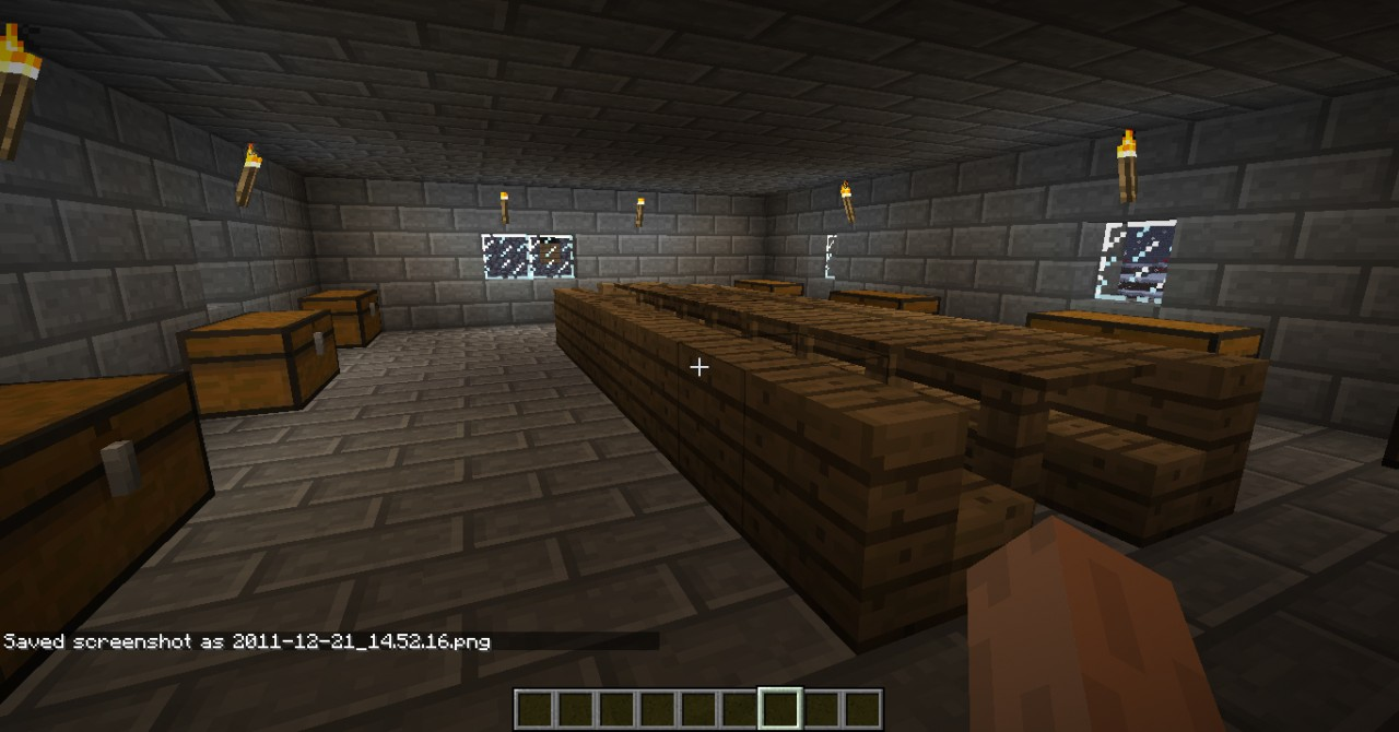 Rest room(near spawn point-all chest hold somethnig)