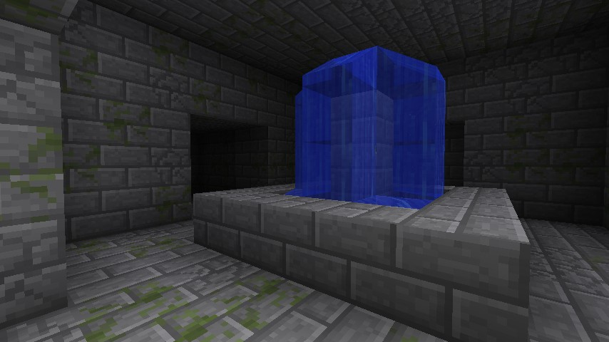 Where you will end up if you dig straight down from the block you spawn on :)