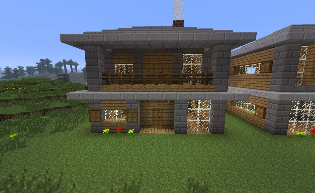 Minecraft Simple Modern House Designs
