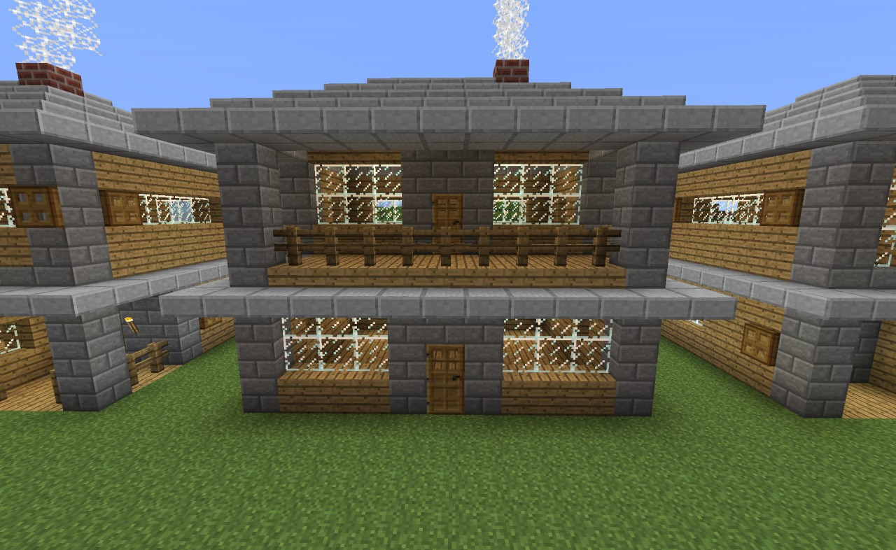 Starter house designs minecraft project for Starter house plans