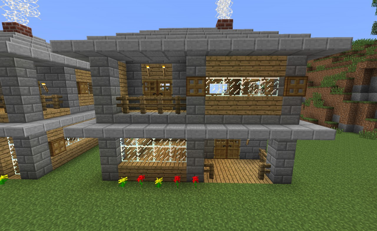 Starter house designs minecraft project for Small starter homes