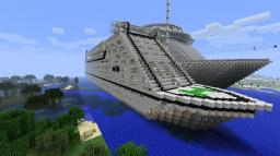 Cruise ship (stopped) Minecraft Map & Project