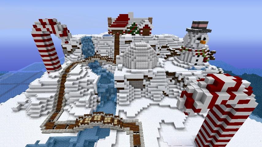 whole mountain - Christmas Mountain