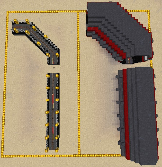 Tunnel Metro Designs Minecraft Project