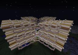 AMAZING GIANT MELON FARM - 10800 MELONS IN A SINGLE HARVEST Minecraft Map & Project