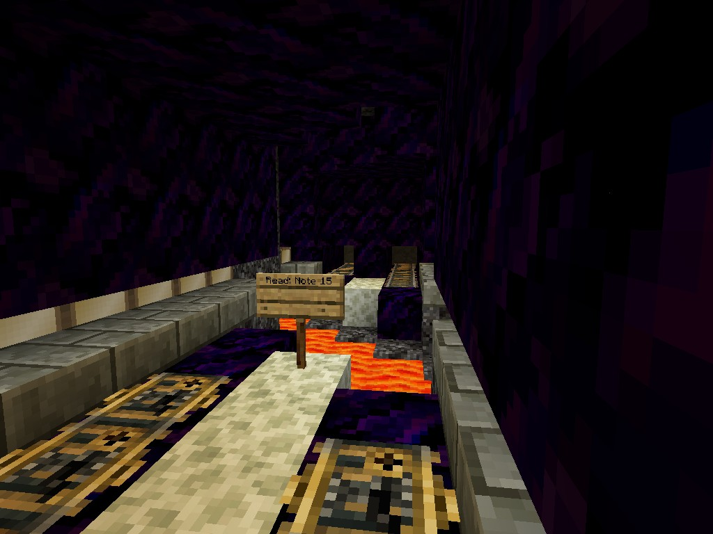 One of The many Mine cart tunnels
