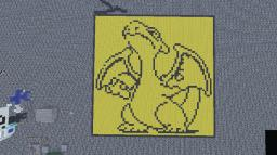 CHARIZARD!!!! (with schematic) Minecraft Map & Project