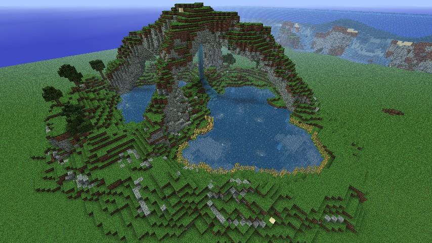 Peaceful Oasis Minecraft Project