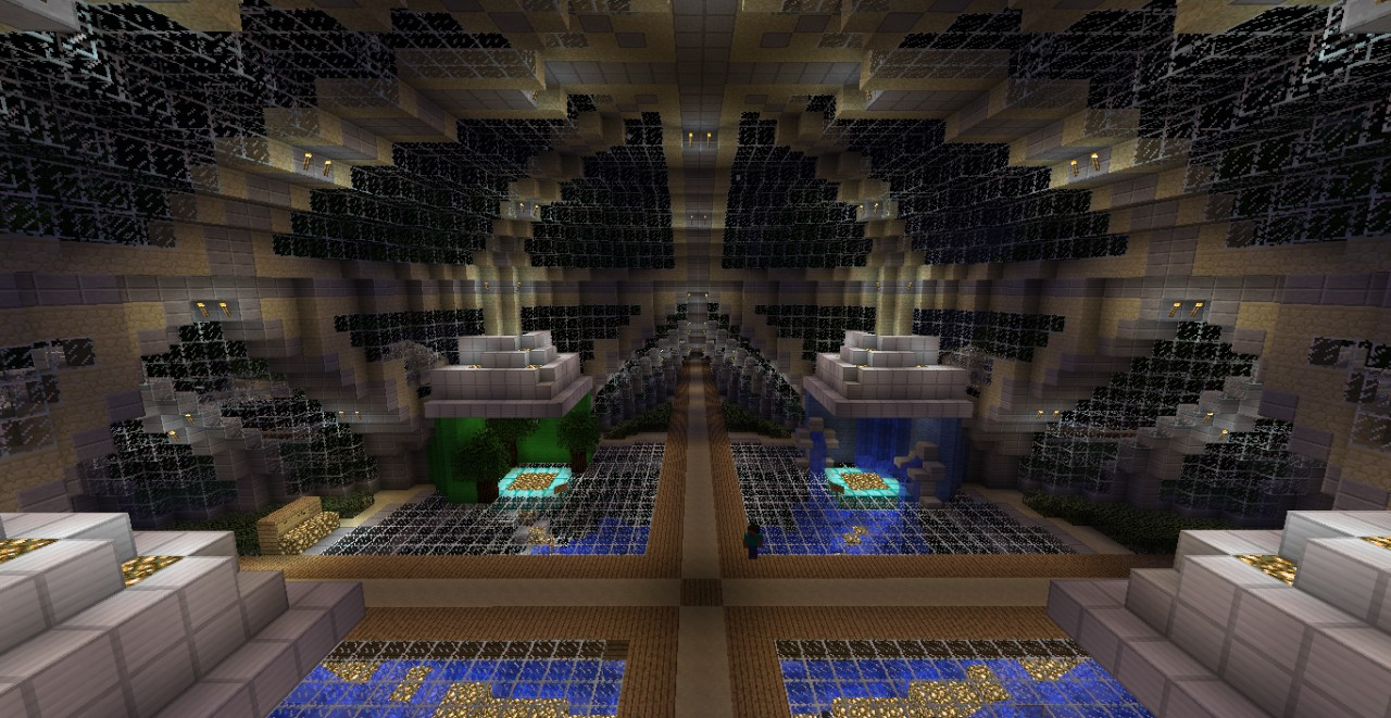 Server SpawnPortal Room Minecraft Project