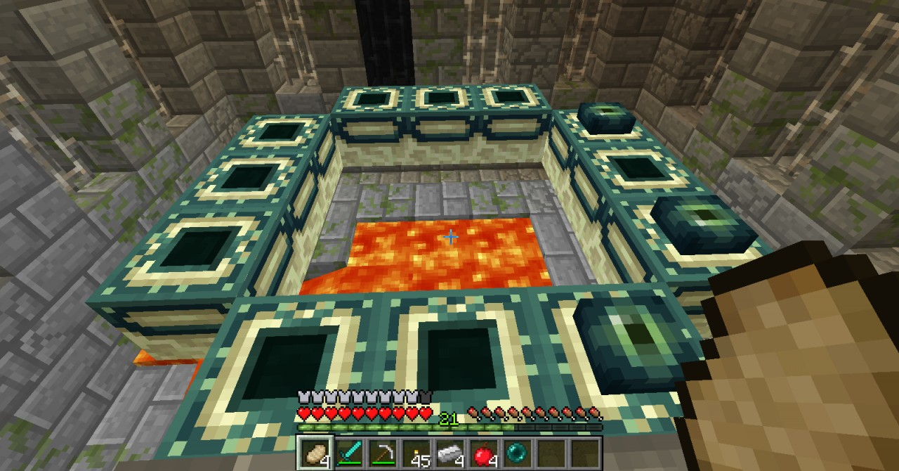 great stronghold seed! Minecraft Blog