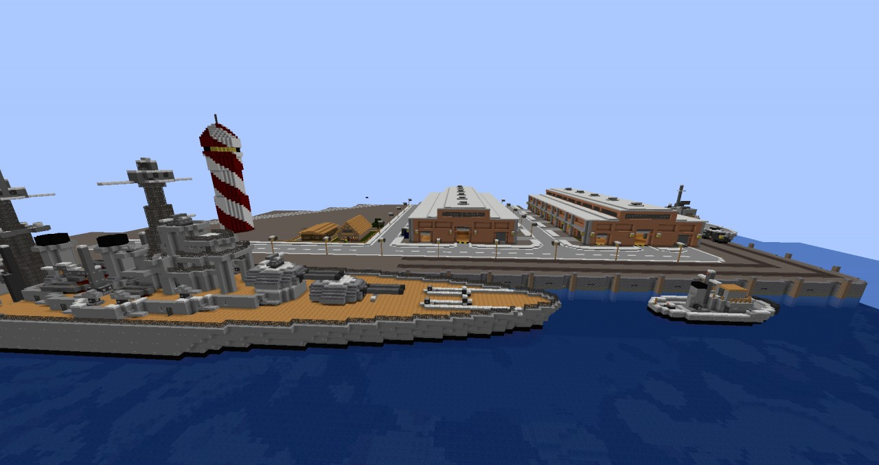 Harbor Project Minecraft