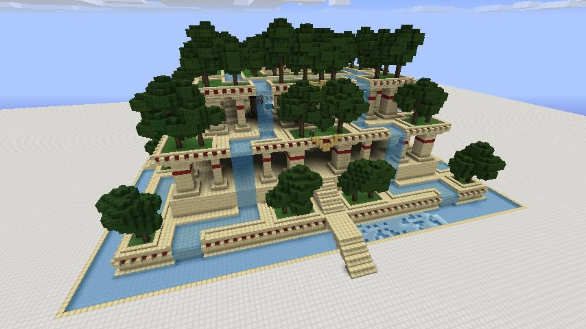 garden designs in minecraft - Minecraft Garden Designs
