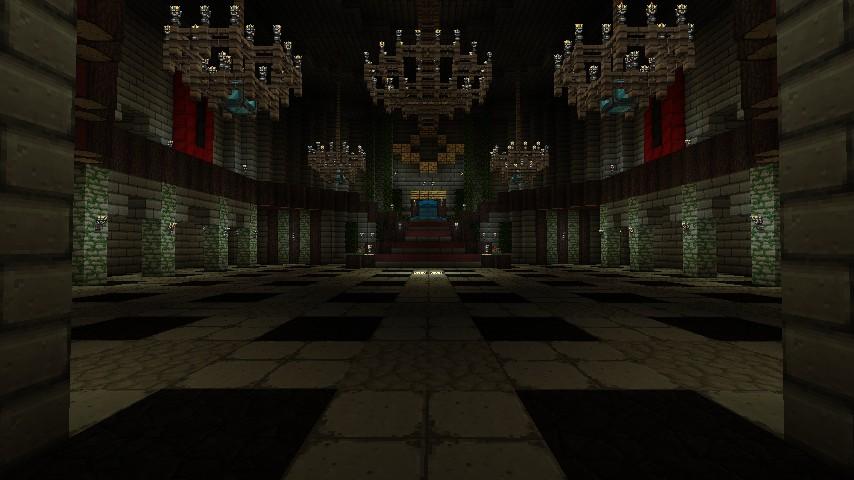 Hyrule Castle Twilight Princess Minecraft Project