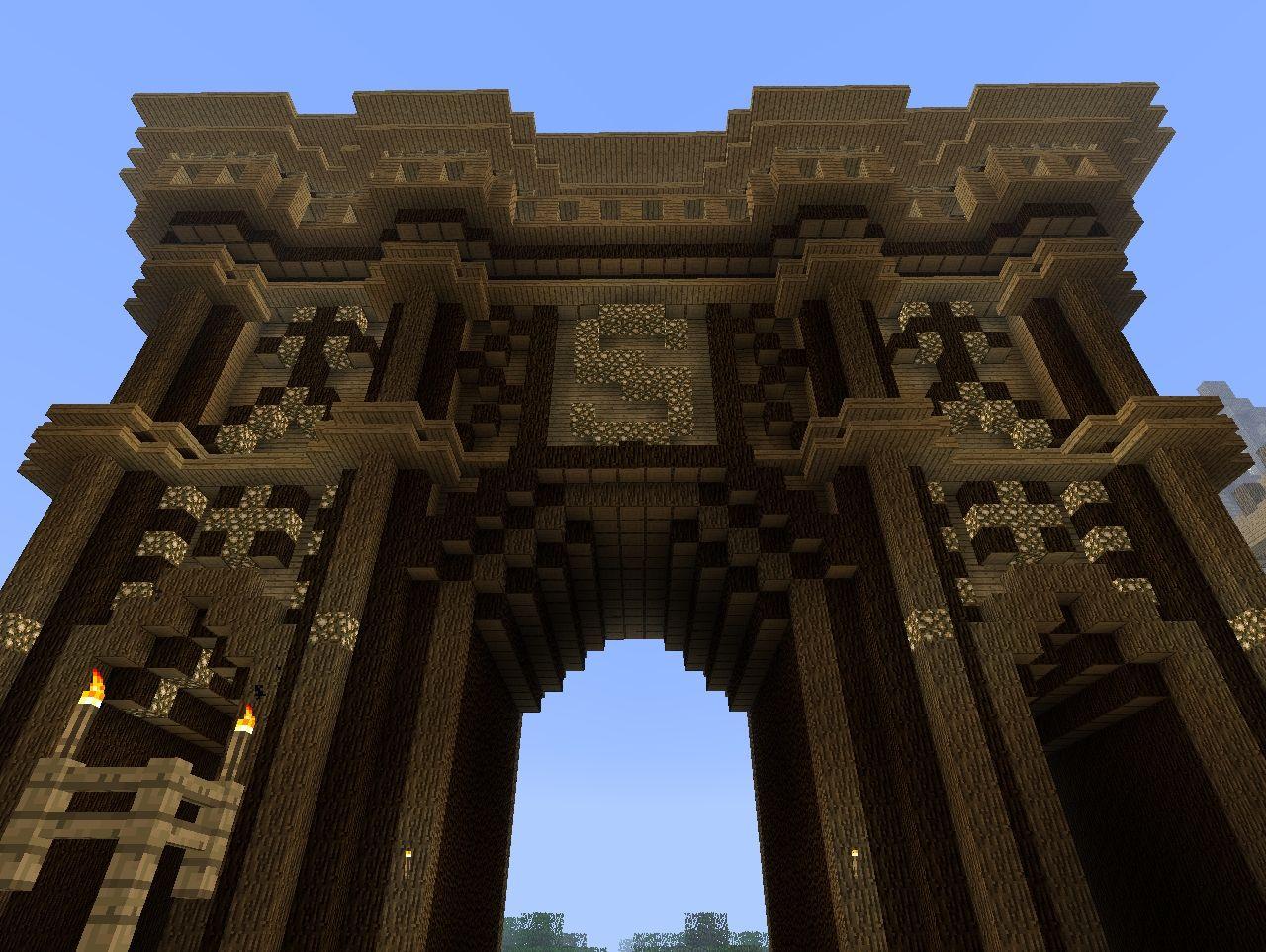 Wooden gates gate minecraft