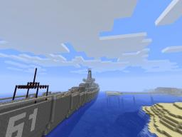 The USS Iowa BB-61 Minecraft Map & Project