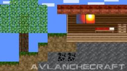 AvalancheCraft 1.2.5   Simplistic|Realistic  - [Randommobs] Minecraft Texture Pack