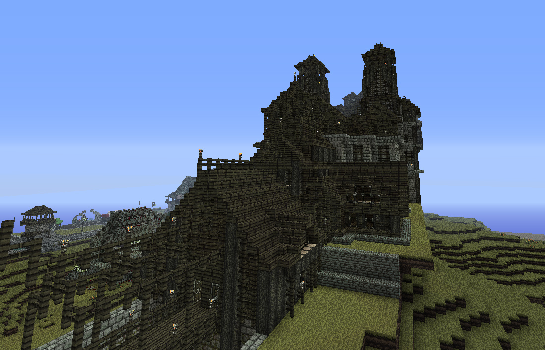 Little medieval ideas minecraft project for Small castle designs