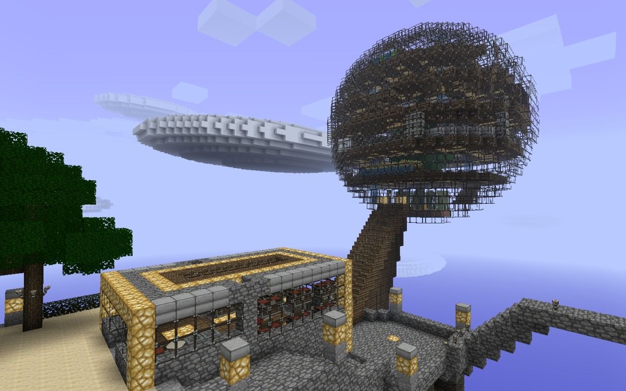 Infernal Sphere Minecraft Project
