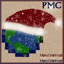Merry Christmas - PMC logo