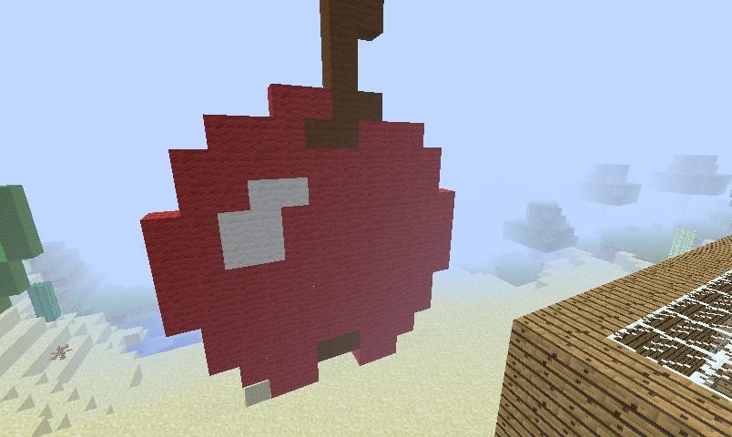 images?q=tbn:ANd9GcQh_l3eQ5xwiPy07kGEXjmjgmBKBRB7H2mRxCGhv1tFWg5c_mWT Minecraft Pixel Art Apple @koolgadgetz.com.info