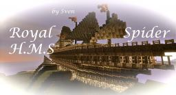 Royal H.M.S Spider Minecraft Map & Project