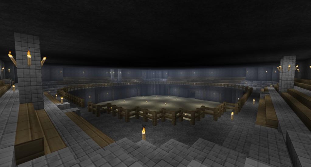 Minecraft Underground Dwarf City - More info