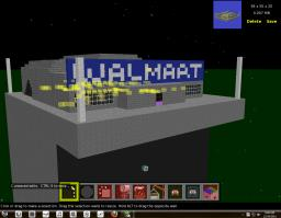 Wal-Mart schematics Minecraft Map & Project