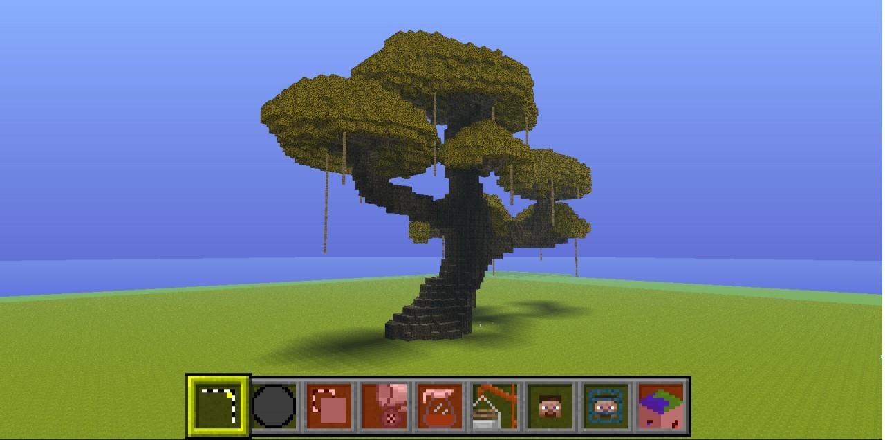 Minecraft Giant Mod Giant Bonsai Tree Minecraft