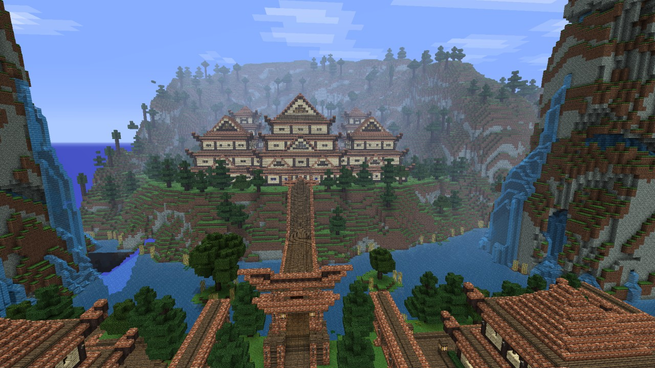 Minecraft timelapse the oriental haven minecraft project for Architecture orientale