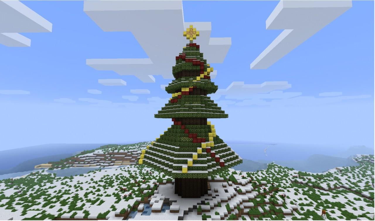 Christmas Tree Minecraft Project