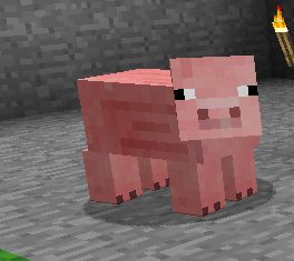 Have A Staring Contest With This Pig Minecraft Blog