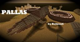 PALLAS [steampunk royal cruiser] Minecraft Map & Project