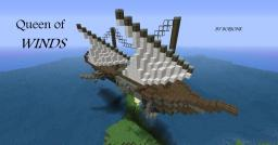 QUEEN OF WINDS [steampunk airship] Minecraft Map & Project