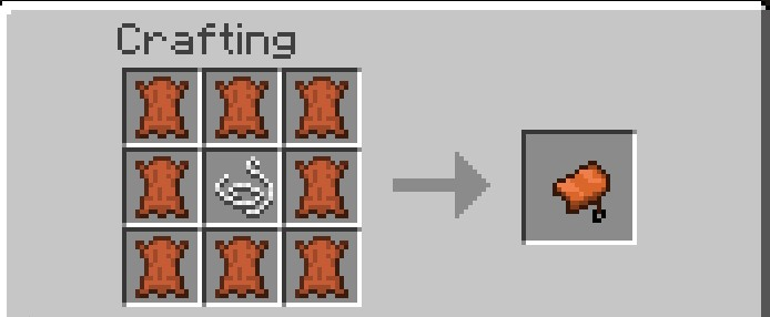 how to make chain pants in minecraft