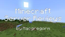 Server Reviewing? You want it? Minecraft Blog