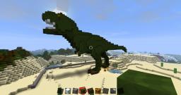 T Rex Minecraft Map & Project