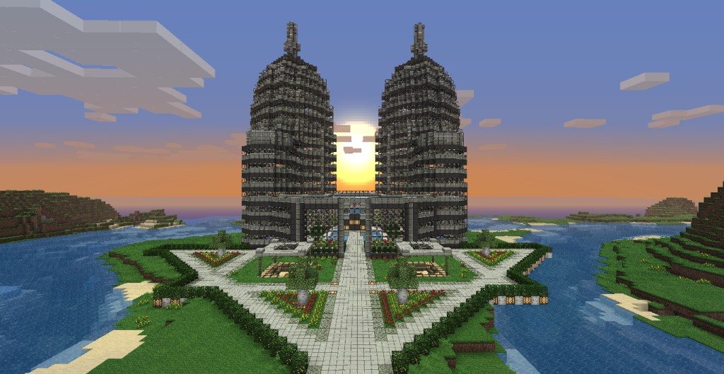 how to easily build on minecradr