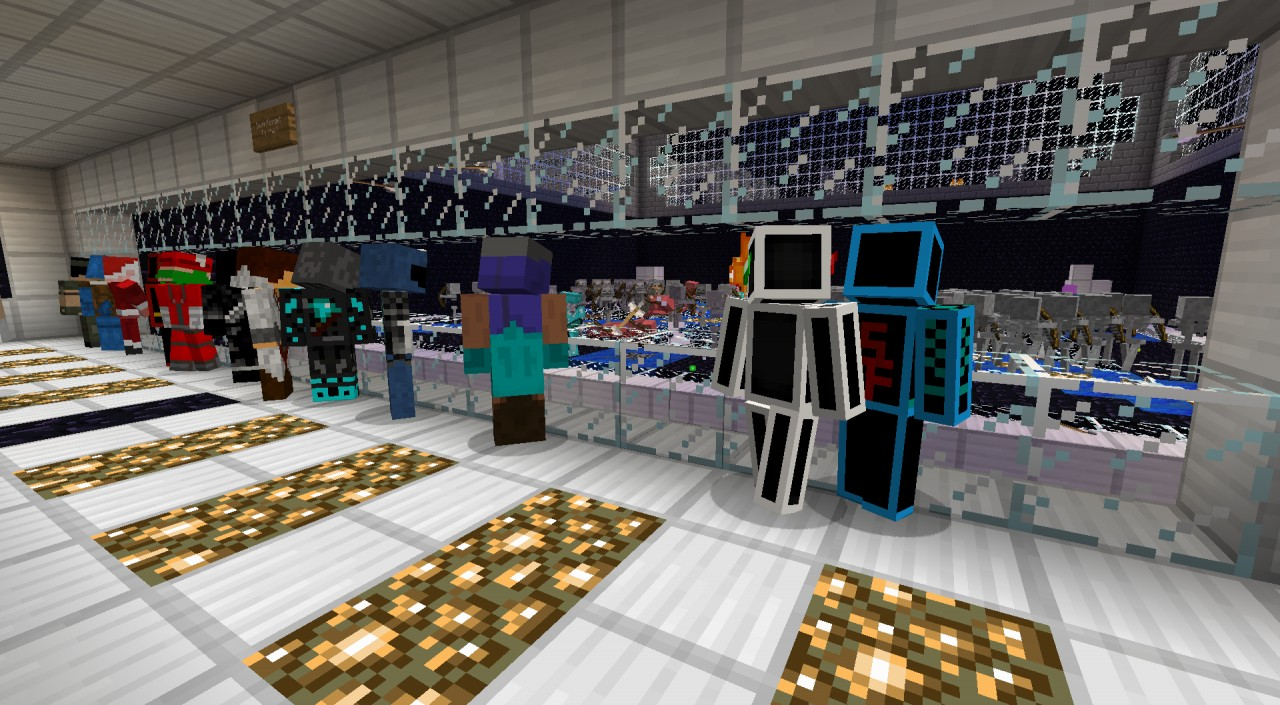 Users spectating a game of Mob Arena