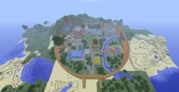 Naruto Konoha (Hidden Leaf Village) Minecraft Map & Project