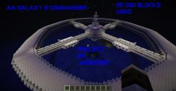 AA Galaxy S Commander Starship Minecraft Map & Project